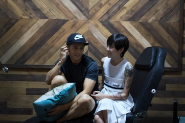 Iris Lam with her boyfriend and actor Johnathan Lee, who would be there to discuss about life despite busy schedule.