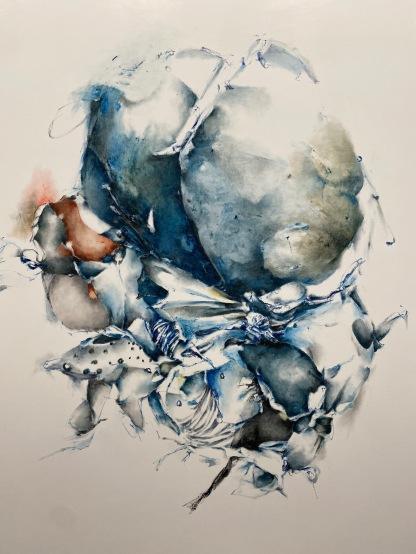 Christine Ay Tjoe, Blue Crptobiosis #07, 2021